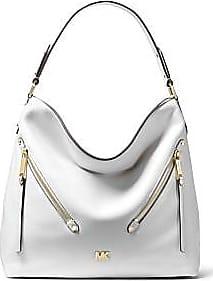 f632ed163d4d Michael Kors Evie Large Pebbled Leather Shoulder Bag