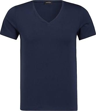 Hanro V-Shirt COTTON SUPERIOR - NAVY
