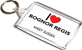 ILoveGifts KEYRING - I Love Bognor Regis - West Sussex