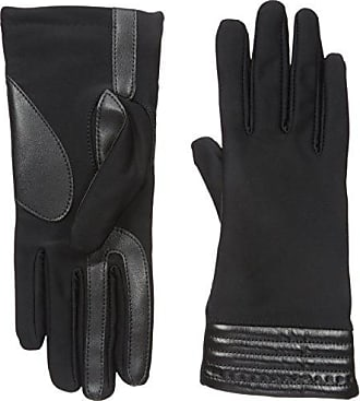 f61b4f11cef Isotoner Isotoner Womens Spandex Stretch Touchscreen Texting Cold Weather Gloves  with Warm Fleece Lining and Metallic