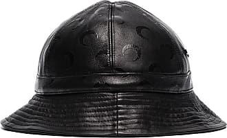 Marine Serre Cappello bucket con logo - Di colore nero