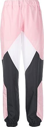 Kirin panelled colour-blocked track pants - PINK