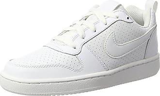size 40 5c5d7 ace60 Nike Wmns Court Borough Low, Chaussures de Sport-Basketball Femme, Blanc ( Blanc