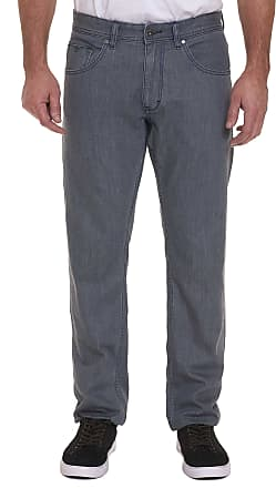 Robert Graham Mens Bray Perfect Fit Jeans In Grey Size: 29W by Robert Graham