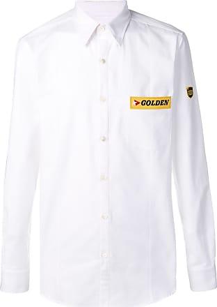 Golden Goose Camisa com patch de logo - Branco