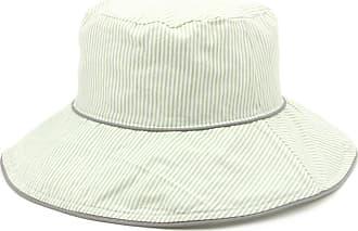 Hawkins Reversible Striped Bucket Sun hat - Green (57cm)