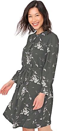 GAP Vestido GAP Curto Floral Verde/Branco