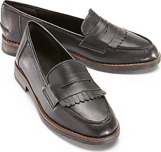 Semler Select Damen Schuhe Leder Schwarz 5,5 Loafer Halbschuh Slippe 38,5