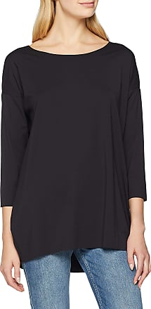 Wolford Womens Pure Cut Pullover Long Sleeve Top, Black, 8 (Size:S)