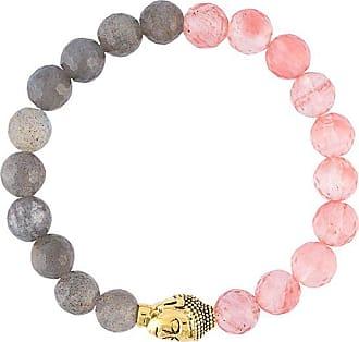 Nialaya beaded Buddha bracelet - PINK