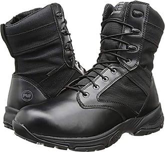 dd65c356d Timberland 8 Valor WP Side Zip (Black) Mens Work Boots