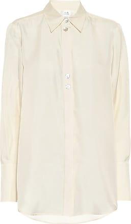 Victoria Beckham Embellished silk shirt