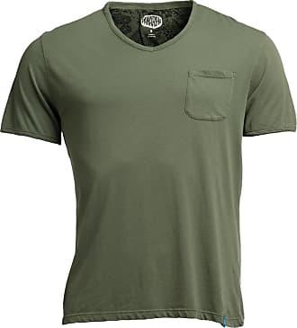 Panareha T-shirt scollo a V MOJITO verde
