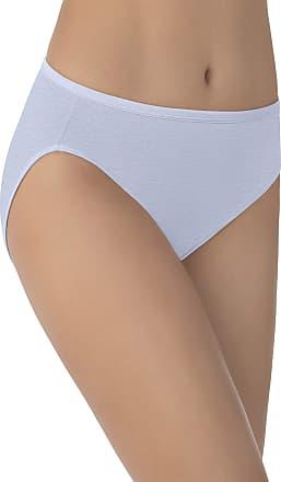 Vanity Fair Womens Illumination Hi Cut Panty 13108 Briefs, Blue Whisper, X-Large (8)