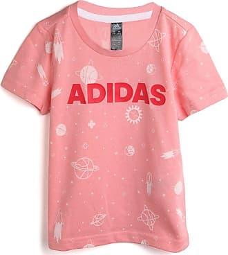 adidas Performance Camiseta adidas Performance Menina Logo Rosa
