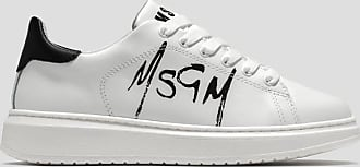 Msgm low top sneakers with spray logo