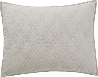 VHC Brands Farmhouse Bedding - Casey Grey Sham, Standard, Stone