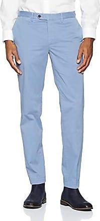 Chino herenbroek, slim fit Lightweight marineblauw, Heren