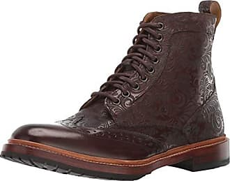 Stacy Adams Mens M2 Wingtip Lace up Boot Ankle, Brown, 7.5 D US
