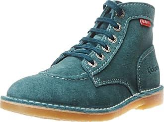 Kickers Womens Orilegend Slouch Boots, Blue (Bleu Prusse 53), 3 UK