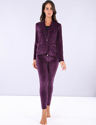 Freddy WR.UP-IN - Chenille tracksuit with a blazer and WR.UP skinny trousers