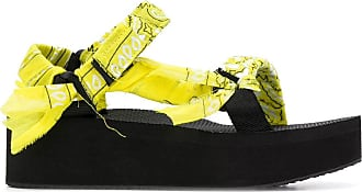 Arizona Love Sandália plataforma Trekky - Amarelo
