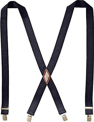 Dockers Mens 1.5 Inch Cotton Terry Suspender, Navy, One Size