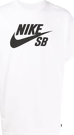 Nike T-Shirt mit Print - Weiß