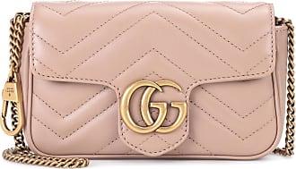 Gucci Schultertasche GG Marmont Super Mini