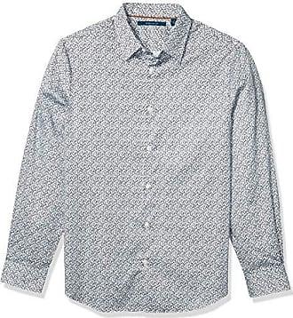 Perry Ellis Mens Slim Fit Arrow Print Shirt