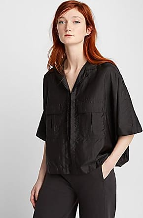 Christophe Lemaire Boxy crinkled-like blouse