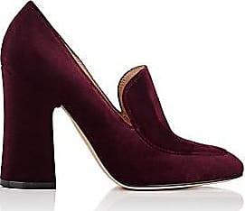 1936945a74e Gianvito Rossi Womens Velvet Loafer Pumps - Prune Size 10.5
