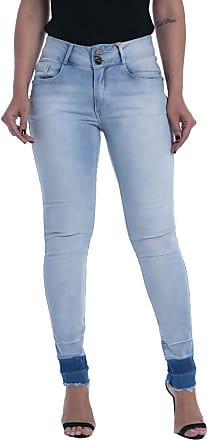 Osmoze Calça Jeans Osmoze Mid Rise Skinny Z Azul 38