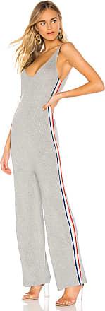 d38c4eade35b Spiritual Gangster x Madeleine Thompson Stripe Jumpsuit in Gray