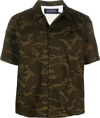 Natural Selection Camisa oversized com estampa camuflada - Verde