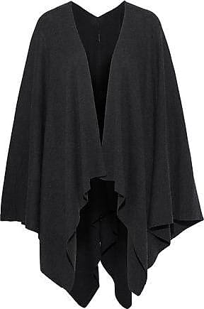 Elie Tahari Elie Tahari Woman Lovell Merino Wool Cape Charcoal Size XS/S