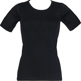 "Ladies Microfleece Long Sleeve Black Thermal Base Layer 0.61 Tog S 32-34/"" Bust"