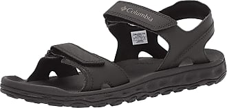 Columbia Mens Buxton 2 Strap Hiking Sandals, Black (Black, Charcoal), 14 UK 48 EU