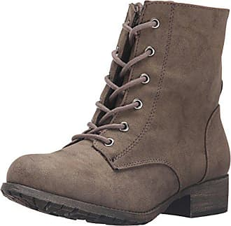 Jellypop Womens Freddy Engineer Boot, Taupe Distress, 9.5 M US