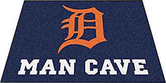 Fanmats 22408 Mlb-Detroit Tigers Man Cave All-Star Mat