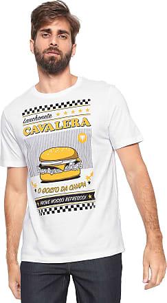 0870a6313f Cavalera Camiseta Cavalera Hamburguer Branca