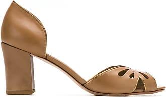 Sarah Chofakian leather pumps - Color marrone