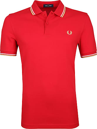 Fred Perry Polohirt Rot J95