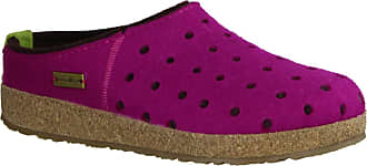 Haflinger 711064 Grizzly Holly Unisex-Adult Slippers, schuhgröße_1:37 EU, Farbe:Pink