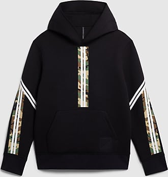 Blackbarrett Camo Military Stripe Hoodie