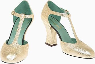 Paola d'Arcano Cracked Leather Pumps 9 cm size 39,5