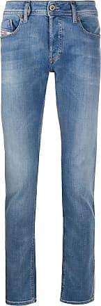 Diesel Calça jeans slim Sleenker - Azul