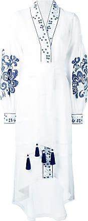 Yuliya Magdych Berry dress - White