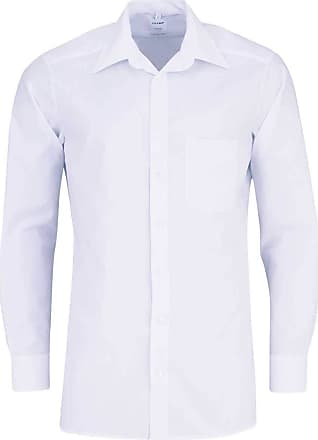 Olymp Olympic Tendenz Modern Fit Shirt Long Sleeve New Kent Collar White - White - 16