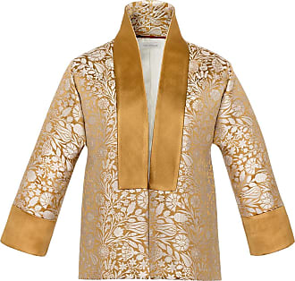 The Crocale Bahar Silk Brocade Jacket